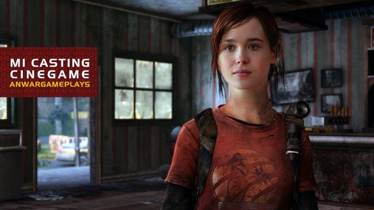 Ellen Page como Ellie (The Last of Us)