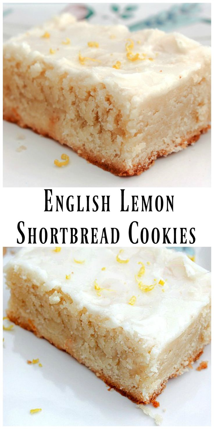 English Lemon Shortbread Cookie -  I just can't resist these buttery, tender absolutely melt in your mouth cookies. via @https://www.pinterest.com/BunnysWarmOven/bunnys-warm-oven/