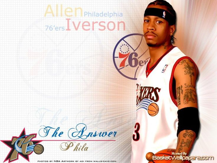 109 best Allen E. Iverson images on Pinterest | Basketball players, Allen iverson and Basketball