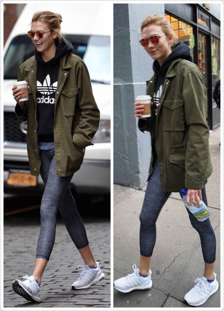 Karlie kloss Adidas workout