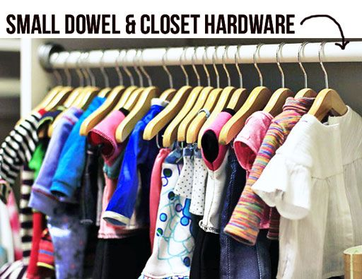 Amazing Closet For Doll Clothes Storage Ideas Via Lilblueboo.com