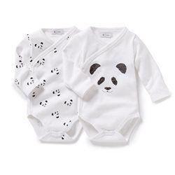 Body recién nacido de manga larga (lote de 2) R baby - Bebé Niña (0-3 años)