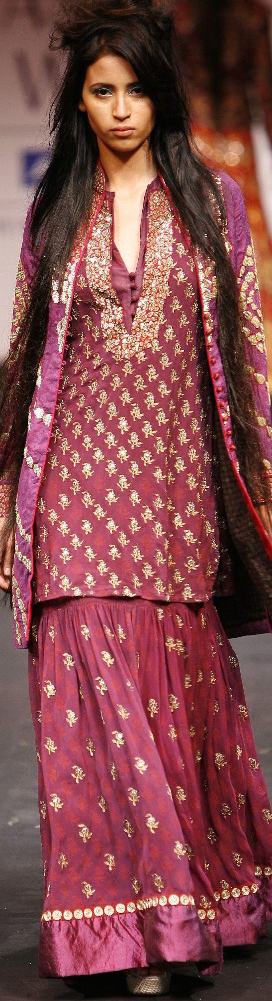 Krishna Mehta A/W 2010 Collection - Original pin by @webjournal