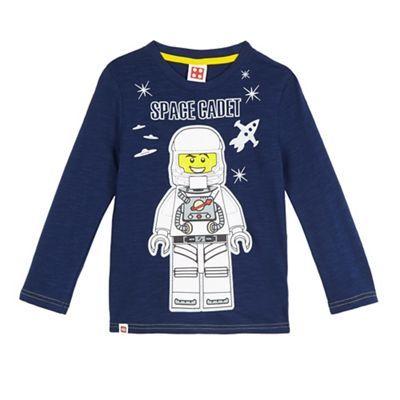 LEGO Boys' navy 'Space Cadet' print t-shirt   Debenhams