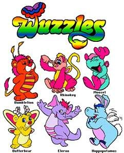 Wuzzles! I loved these things