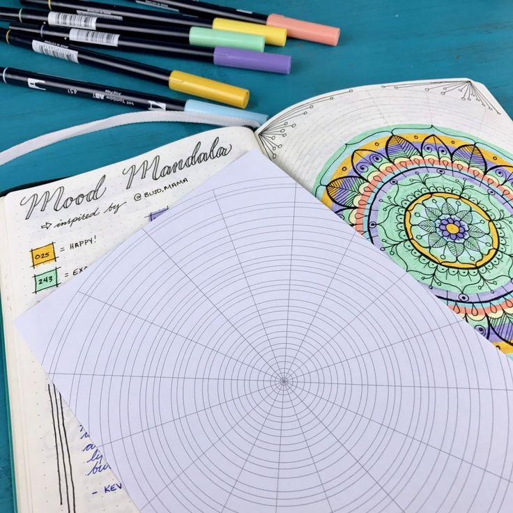 how to create a mood mandala