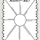 Students fill in the rays sharing math-related facts about themselves. For more information and samples, see this post - http://mrssolsclass.blogsp...