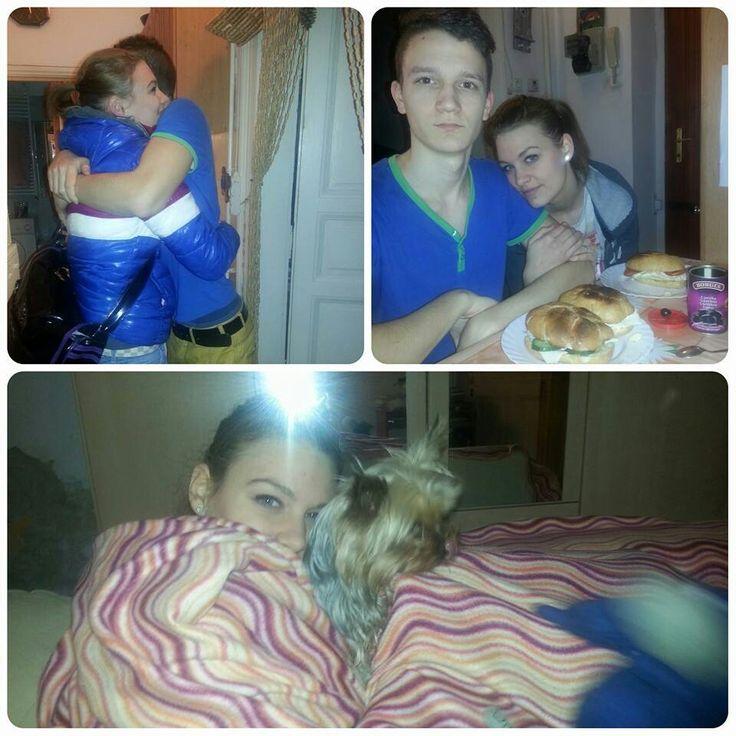 #iLovemyBro' ♥ and my little cute dog