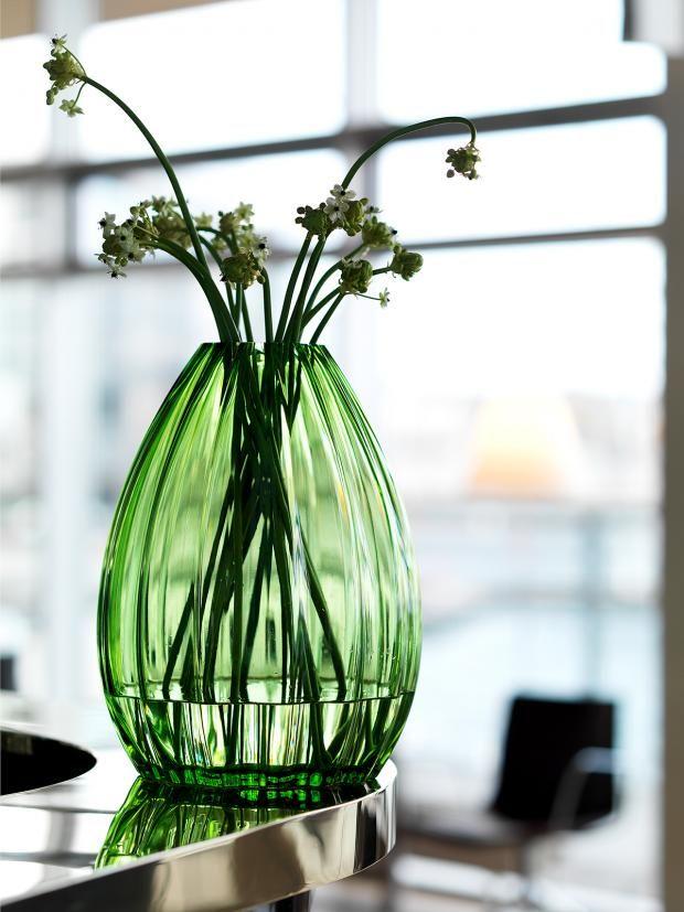 """Vase """"2Lips"""" von Maria Kariis für Holmegaard"""