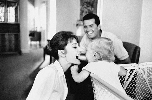 """""""The most important job in life is being a Mom."""" Audrey Hepburn---SO TRUE"""