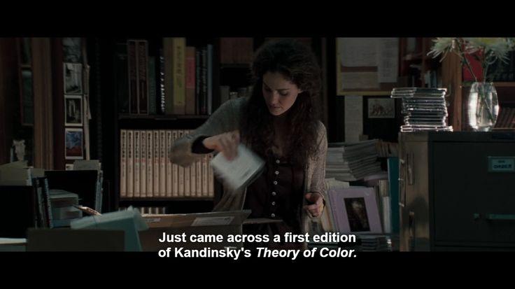 Nogal random, deze verwijzing naar Kandinsky in de film Heat (ca. 1:41:20)