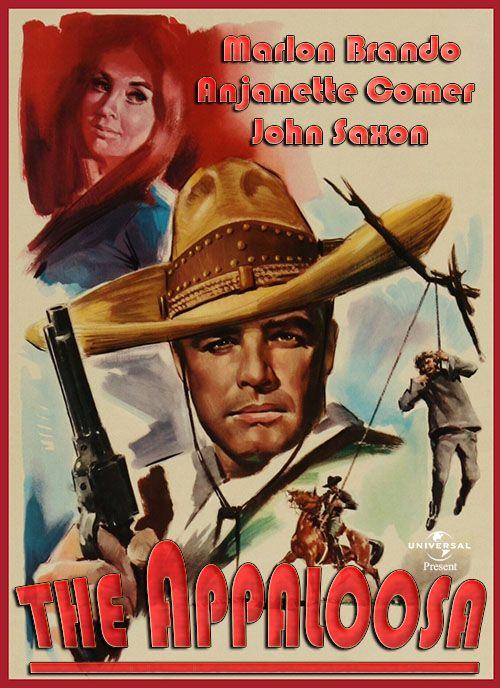 The Appaloosa The Appaloosa 1966 Metek Artwork Dvd Front Cover Pinterest