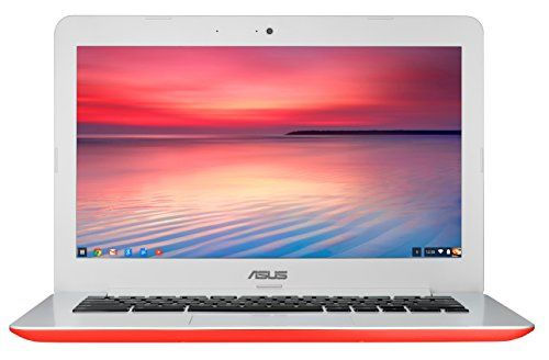 "PRODUCT DETAILS : ASUS Chrome book C300MA-DH01-RD 13.3"" Laptop (Red), Intel Bay Trail-M N2830 Dual-Core 2.16GHz (Turbo up to 2.4GHz), 2GB DDR3L (1600MHz) on board, 16G EMMC + TPM, 802.11AC, [ ]"