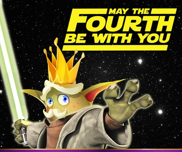 The Moji Mayor wishes you all a happy Star Wars Day! May the Fourth be with you...