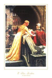 Spruce up the walls of your home with this wonderful Edmund Blair Leighton a Lady's favor picture art print poster. This poster depicts the image of the tradition in Chivalry of a Knight carrying a Lady's favor into battle. His courage and deeds bring honor to the Lady. It will be a perfect addition for those who love traditional décor pattern. It will surely leave lasting impression on your guests.