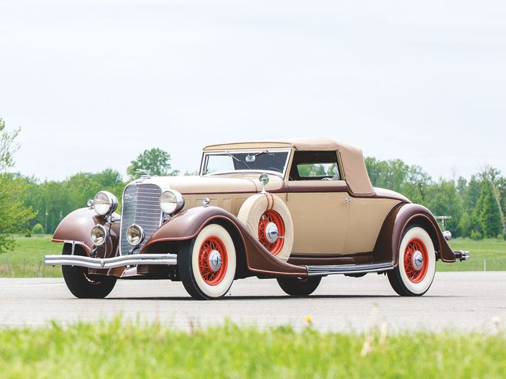 1934 lincoln model kb convertible roadster ford motor