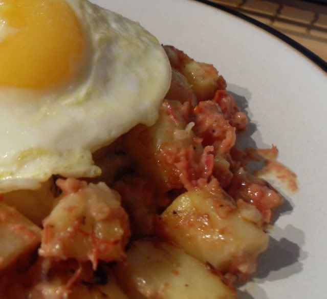 The English Kitchen: Baked Corned Beef Hash.