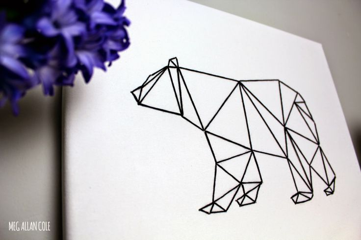 Nest: Episode 16 // Geometric Animal String Art