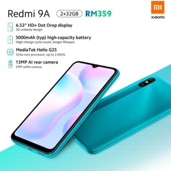 Xiaomi Redmi 9a Specification Price And Release Date In 2020 Xiaomi Smartphone Features Big Battery
