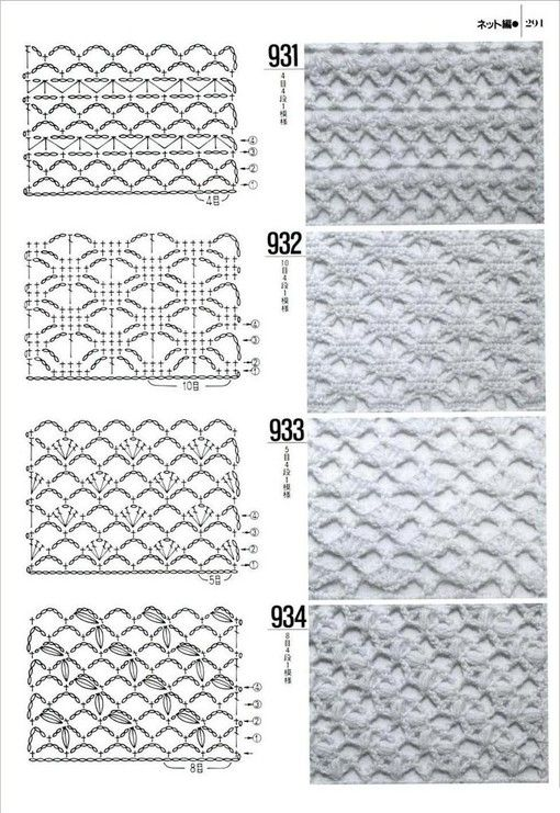 Best 300+ puntos images on Pinterest | Crochet patterns, Crochet ...