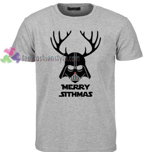 Marry sithmas star wars christmas T Shirt gift tees cool tee shirts //Price: $11.99  //