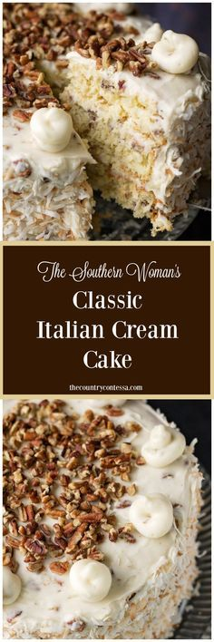The Southern Woman's Classic Italian Cream Cake Recipe