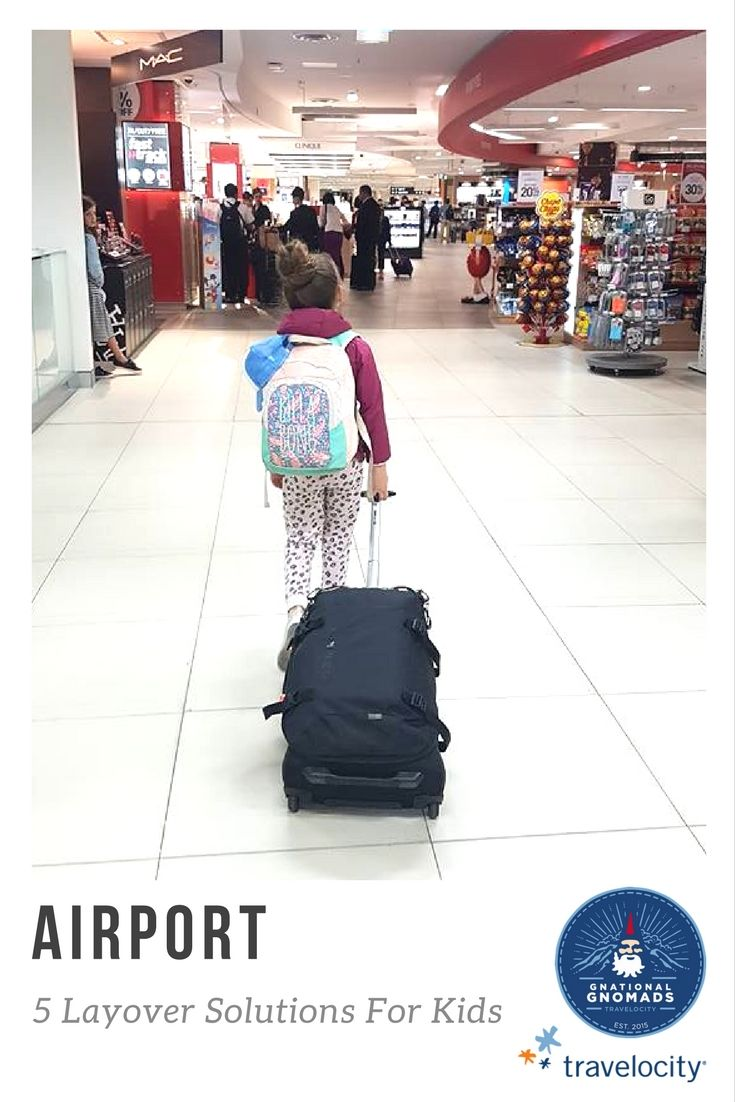 Adults will find a way to occupy themselves during an airport layover, but it's not always so easy when you're traveling with kids. We've teamed up with family travel expert, Erin Bender of Explore With Erin to help us keep the kids amused. From 1 to 10-hour layovers, Erin's done it enough times to give us her best tips.