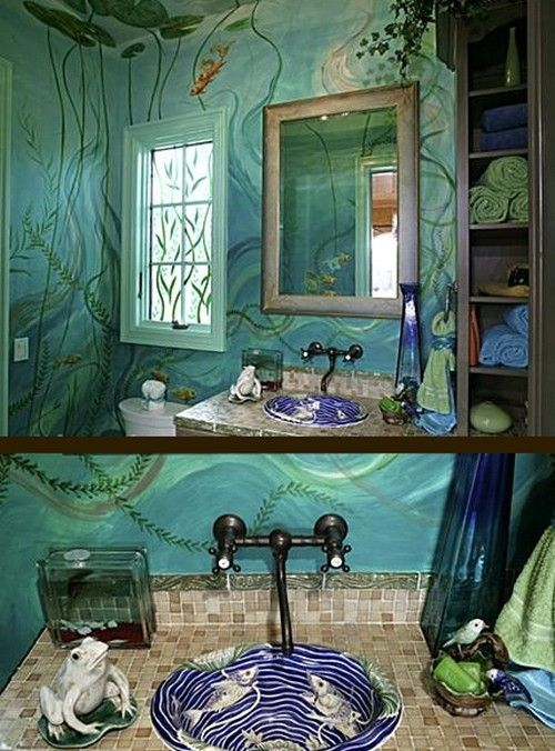 17 best images about unique bathrooms on pinterest why not restaurant and exclusive homes Unique bathrooms