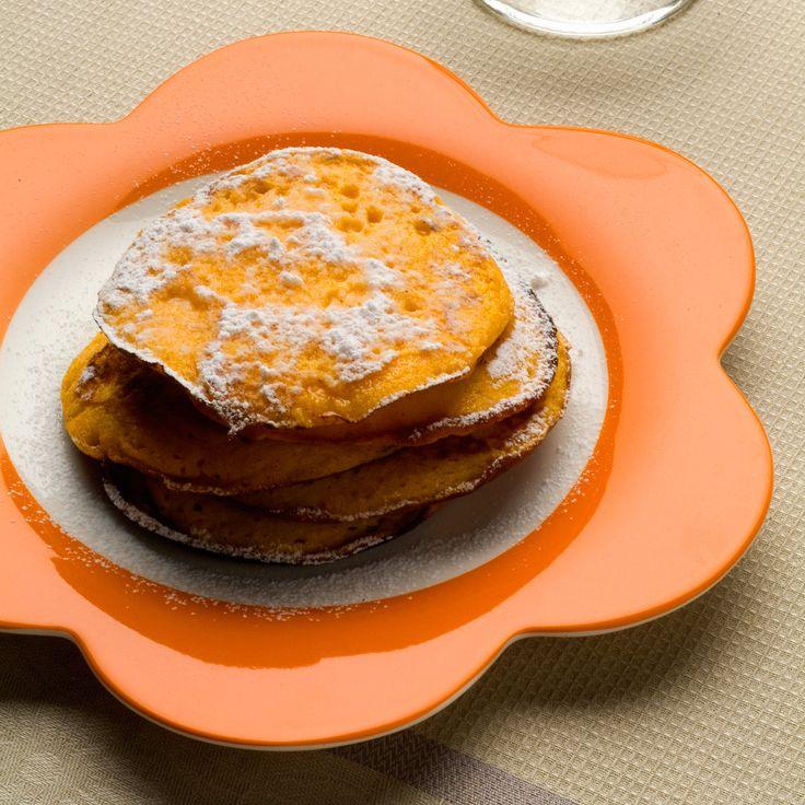 Découvrez la recette des pancakes au potiron