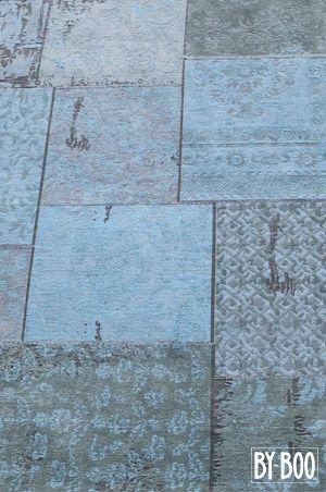 Carpet Patchwork - turquoise 200x300 cm