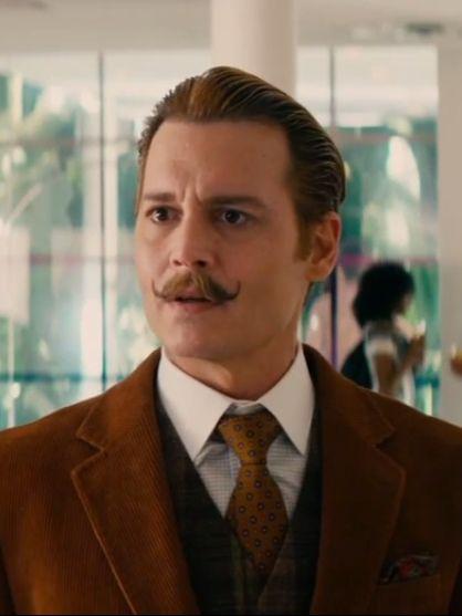 "Johnny Depp in ""Mortdecai"""