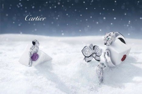 Cartier Winter Tale Holiday Campaign 2011