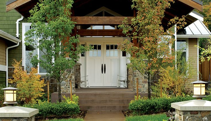 17 best ideas about exterior french patio doors on for Triple french doors exterior