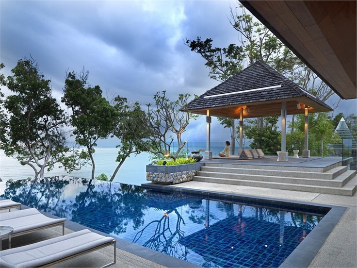 Samsara House 5, Phuket, 2006 http://bit.ly/A7jjeu #architecture #design #archilovers #swimmingpool: Beaches House, Phuket Thailand, Interiors Design, Ocean Front, Beautiful Ocean, Front House, Outdoor Spaces, Modern Home, Infinity Pools