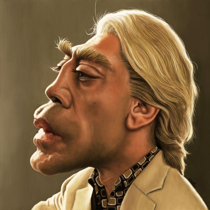 "Kikelin caricaturas: JAVIER BARDEM ES RAOUL SILVA EN ""SKYFALL"""