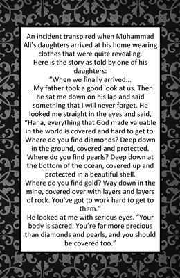 Modesty Story from the Idea Door. Remember for when my girls get older.