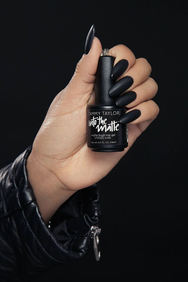"""Are you Into The Matte? Tammy Taylor """"Into The Matte"""" Gel Polish  tammytaylornails.com"""