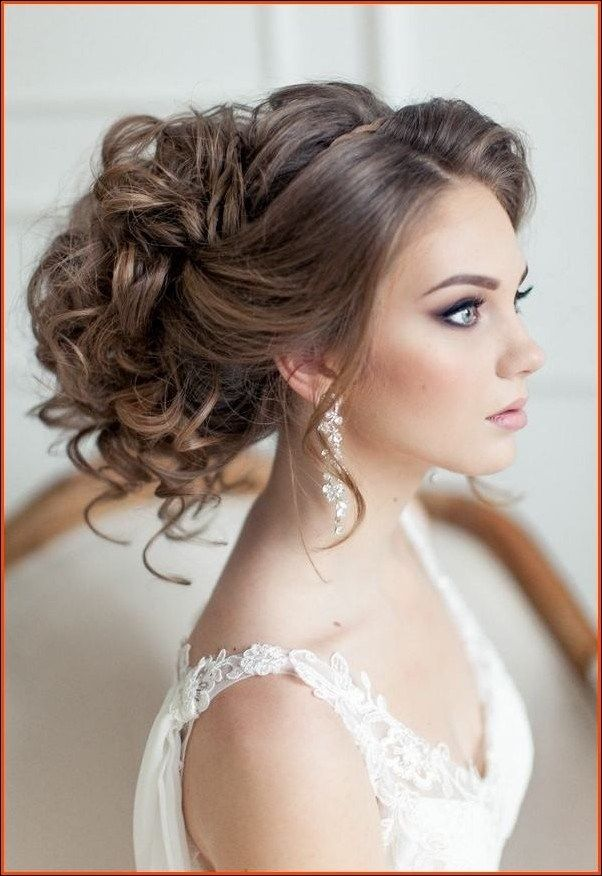 Wedding Hairstyles For Round Faces 1 Elegant Wedding Hair