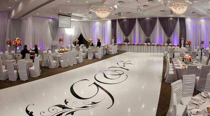 The dance floor truly makes for an unforgettable experience. #wedding #whitewedding #dancefloordecor #dancefloor #weddingdecor #love #pattern