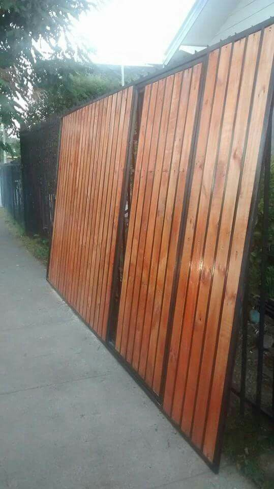Portones, cercos y cierres perimetrales Estructuras de fierro y maderas valdivia 79095845