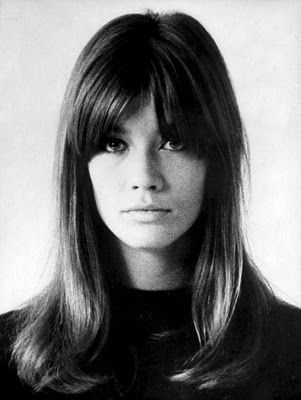 If I were to go brunette and cut my hair, this is what I'd do...Francoise Hardy