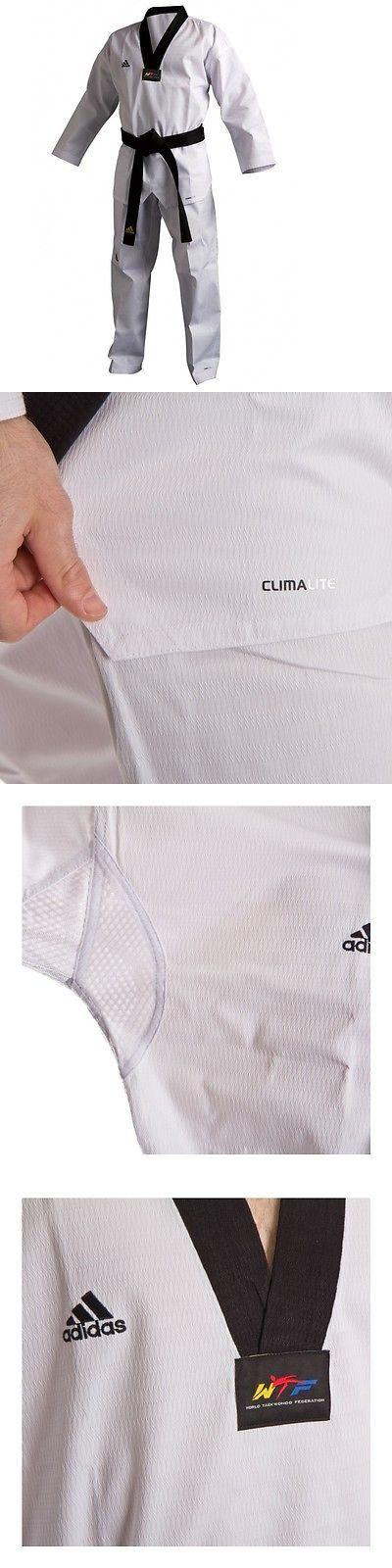 Uniforms and Gis 179774: New Adidas Taekwondo Uniform Adichamp 3 Tkd Dobok Set -White W Black V-Neck -> BUY IT NOW ONLY: $89.99 on eBay!
