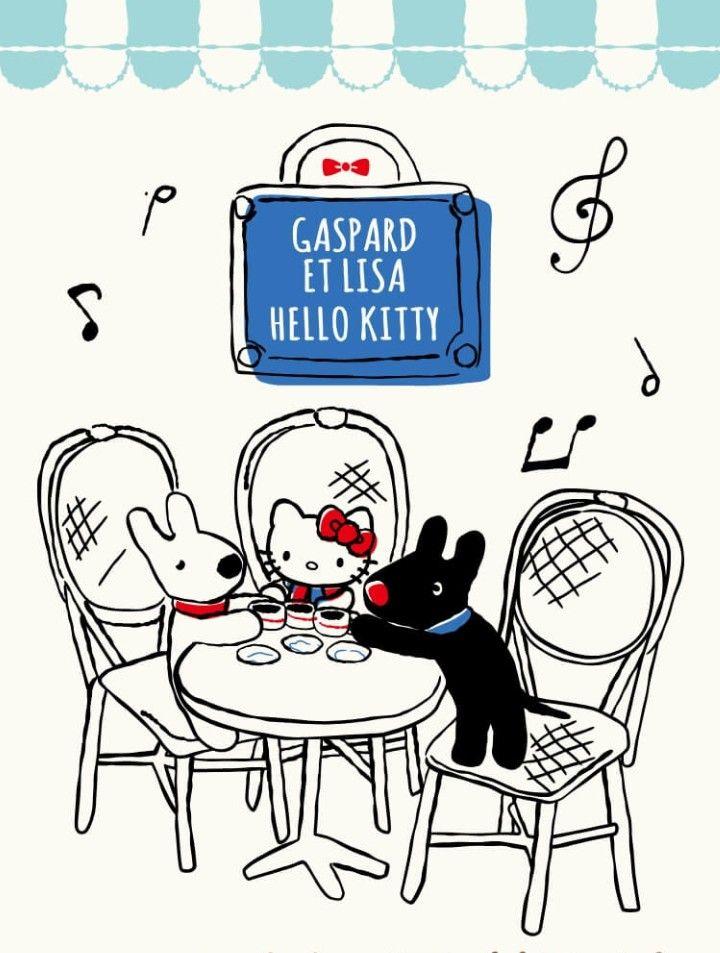 Gaspard Et Lisa X Hello Kitty Hello Kitty 3 Hello Kitty