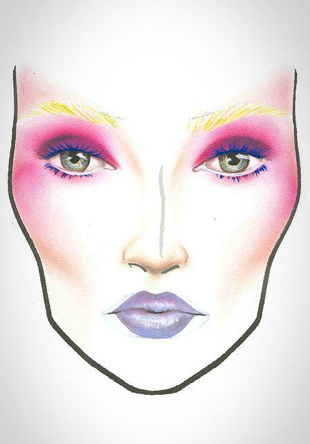 617 best MAC FaceCharts images on Pinterest   Mac face charts ...