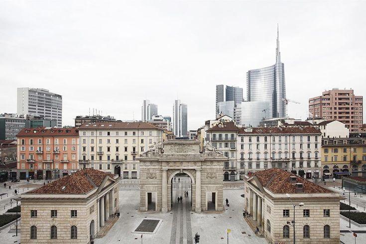 Martino Lombezzi, Piazza XXV Aprile e i nuovi edifici di Porta Nuova, Milano 2013