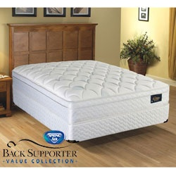 overstock sleep in the ultimate comfort with this spring air meadow pillow top mattress this mattress is designed with an innerspring unit