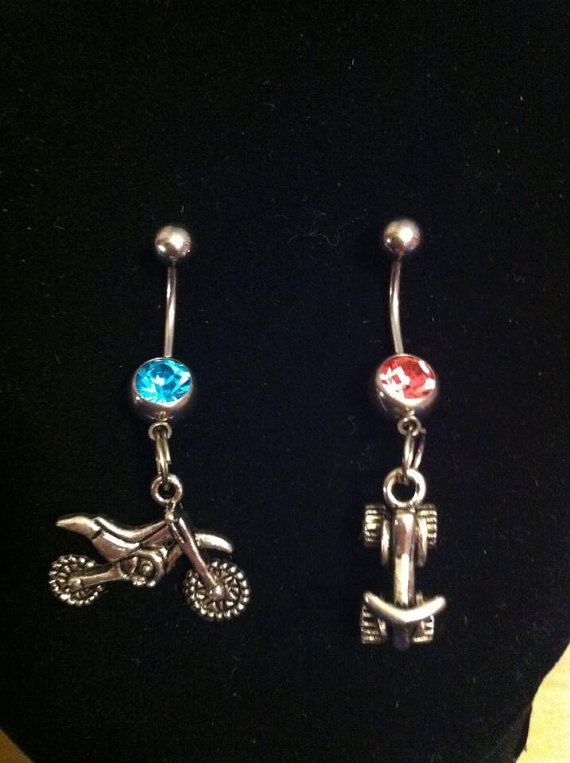 Dirt bike/Motorcyle/Atv belly rings