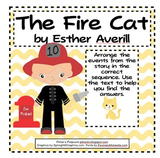 The Fire Cat Common Core Text Exemplar