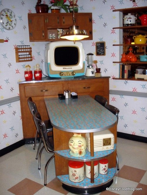 50s Prime Time Cafe- Love this restaurant where the waitresses treat you like a family member over for dinner in their home in the 1950's