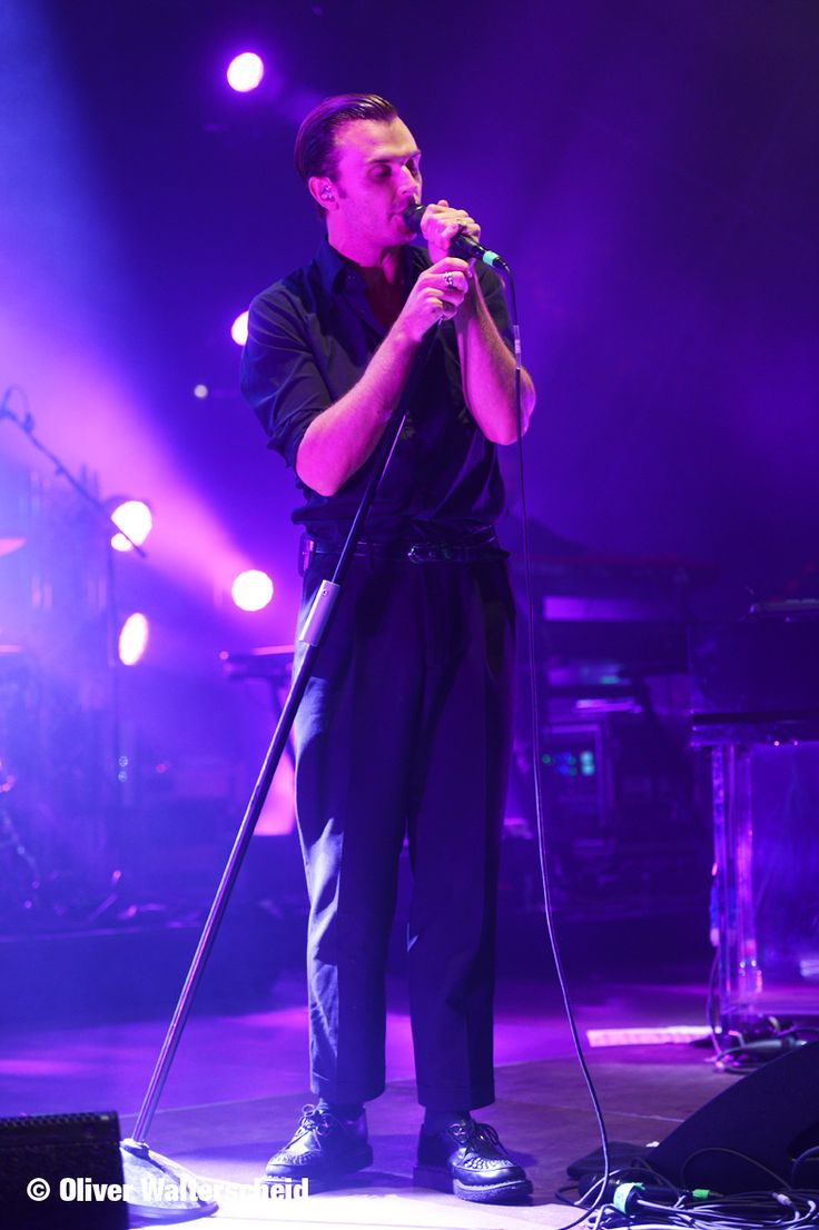Theo Hutchcraft #Hurts playing the Energy Music Tour 2015 #EMTBerlin